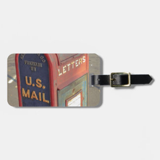 Old Mailbox Luggage Tag