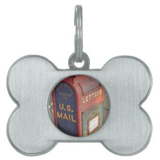 Old Mailbox Pet ID Tag