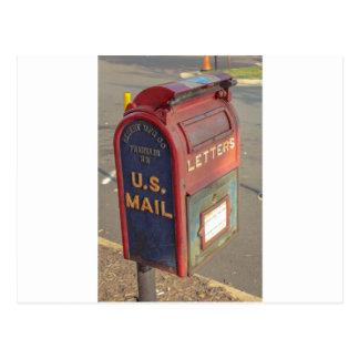 Old Mailbox Postcard