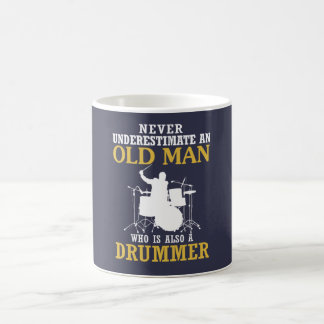 Old Man - A Drummer Coffee Mug