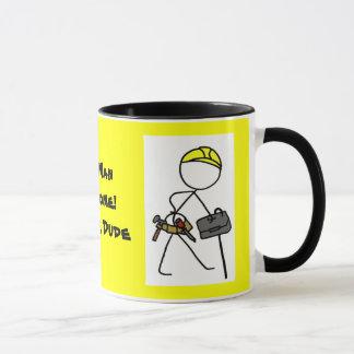 Old Man Awesome ! Builder Dude. mug 1