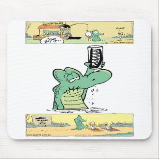 Old Man Croc Mousepad