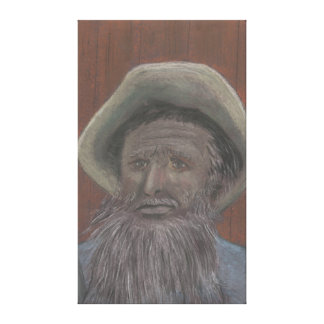 Old Man from the Sea on Canvas