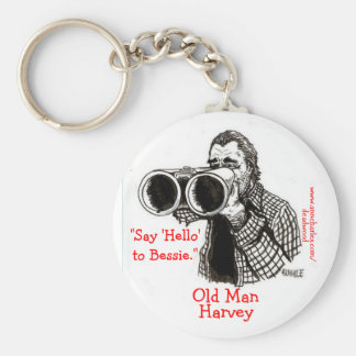 Old Man Harvey - Ann Charles' Deadwood Keychain
