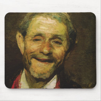 Old Man Laughing, 1881 Mousepads