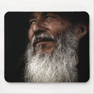 Old Man Mouse Pad