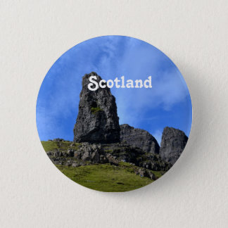 Old Man of Storr on the Island of Skye 2 Inch Round Button