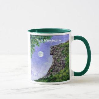 Old Man Of The Mountain New Hampshire Art Mug