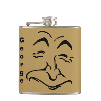 Old Man of the Sea Hip Flask