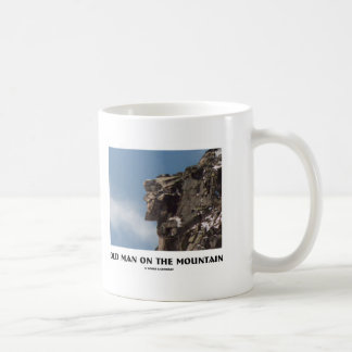 Old Man On The Mountain (Optical Illusion) Coffee Mug