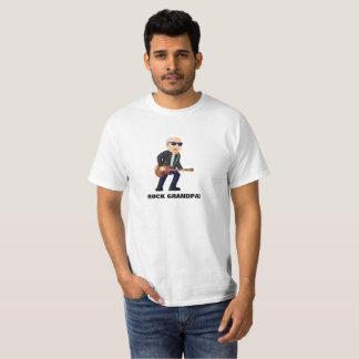 Old Man Rock Musician print on Men's Value T-Shirt