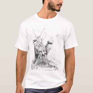 """""""Old Man Tree Spirit"""" graphite T-Shirt"""