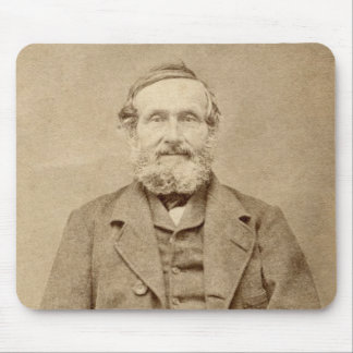 Old Man Vintage Albumen CDV Photo From 1860's Mouse Pad