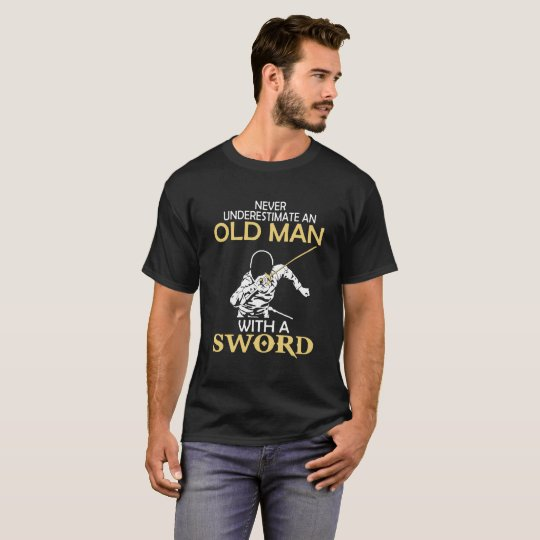 Old Man with A Sword T-Shirt