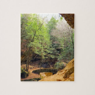 Old Man's Cave Jigsaw Puzzle