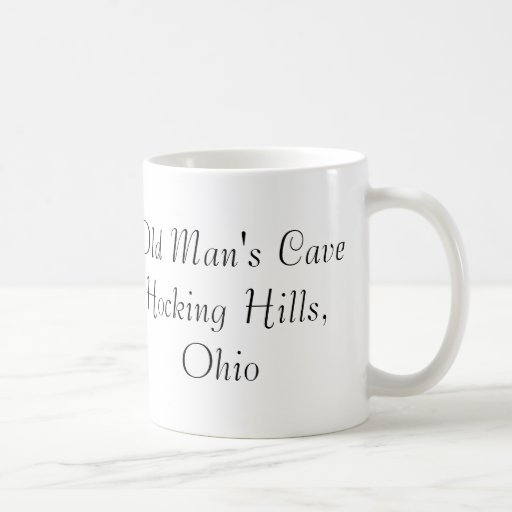 Old Man's Cave Coffee Mug
