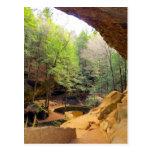 Old Man's Cave Postcard