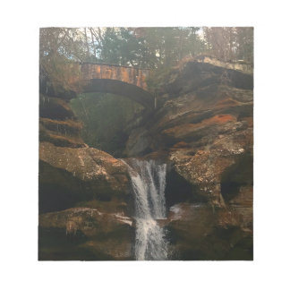 Old Mans Cave Upper Falls Ohio Notepad