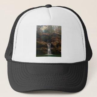 Old Mans Cave Upper Falls Ohio Trucker Hat