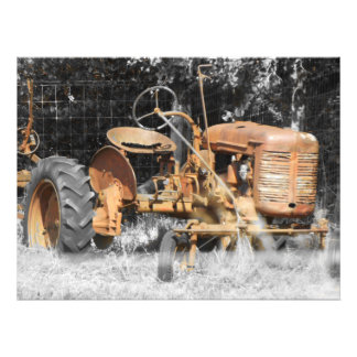 old mans farm gear photo print