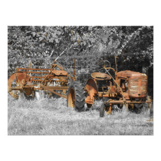 old mans farm photo print