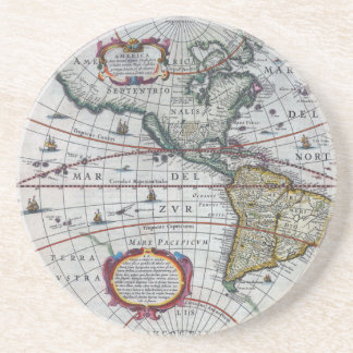 old map Americas Coaster