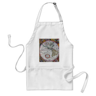 old map Americas Standard Apron