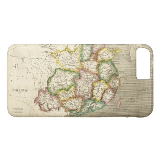 Old Map of China (1830) iPhone 8 Plus/7 Plus Case