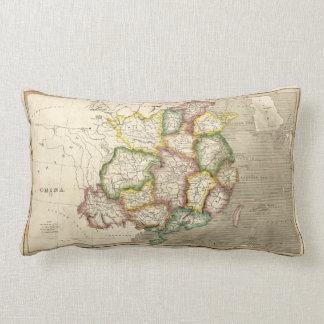 Old Map of China (1830) Lumbar Pillow