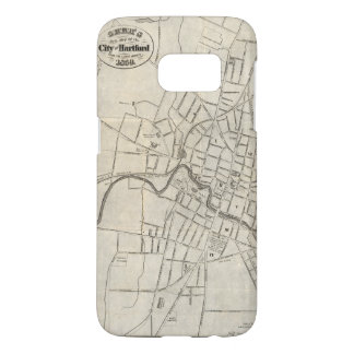 Old Map of Hartford, Connecticut (1859) Samsung Galaxy S7 Case