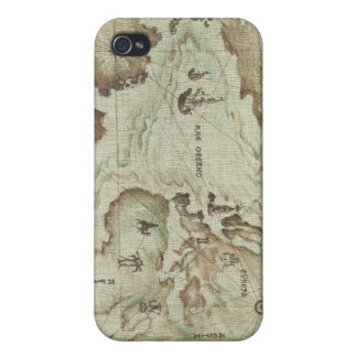 Old Mapamundi Hard Case for Iphone 4/4s Speck iPhone 4/4S Cases