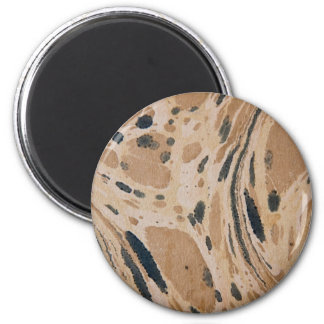 Old marbled texture refrigerator magnet