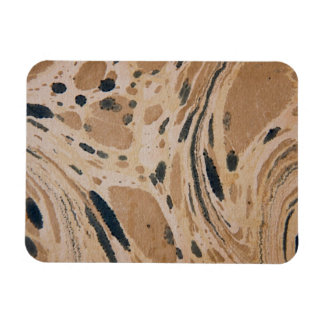 Old marbled texture flexible magnet