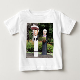 Old married couple sculptures baby T-Shirt