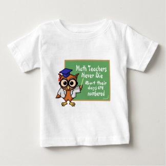 Old Math Teachers Epitaph Baby T-Shirt