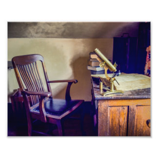 Old Medical Office Photography Print Photograph