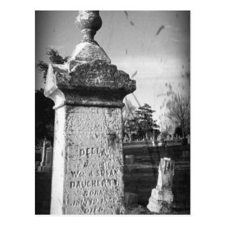 Old Memories, Della's Tombstone Postcard