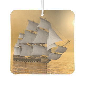 Old merchant ship - 3D Render Air Freshener