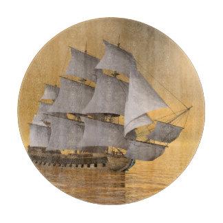 Old merchant ship - 3D Render Boards