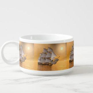 Old merchant ship - 3D Render Bowl