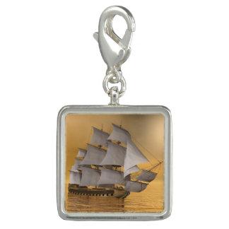 Old merchant ship - 3D Render Charm