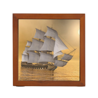Old merchant ship - 3D Render Desk Organizer