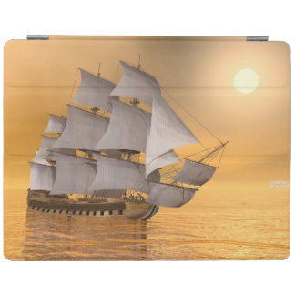 Old merchant ship - 3D Render iPad Cover
