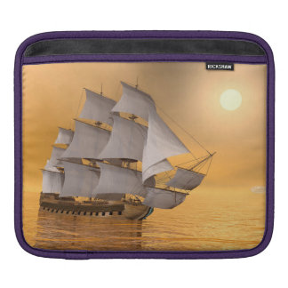 Old merchant ship - 3D Render iPad Sleeve