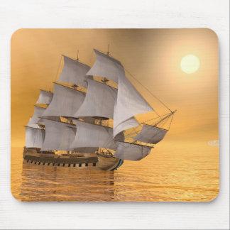 Old merchant ship - 3D Render Mouse Pad