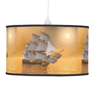 Old merchant ship - 3D Render Pendant Lamp