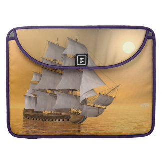 Old merchant ship - 3D Render Sleeve For MacBook Pro