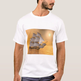 Old merchant ship - 3D Render T-Shirt