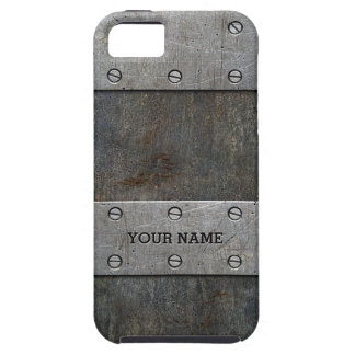 Old Metal Look Tough iPhone 5/5S Case