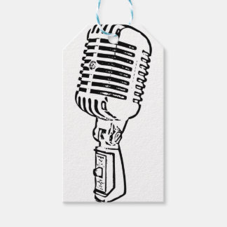 Old Mic Gift Tags